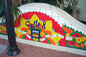 learning Spanish Miami - Calle 8