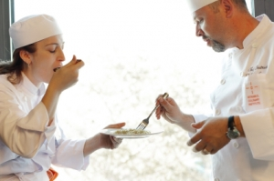 professional foreign language training - cooking lessons with chef - active foreign language learning