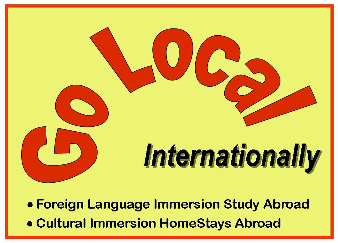cultural immersion I think part of the reason immersion travel is something people actively pursue is because you actually have to pursue it if you show up in a country and stay in a hotel or hostel, you're going to be surrounded by english speakers and visiting the irish pub every day.